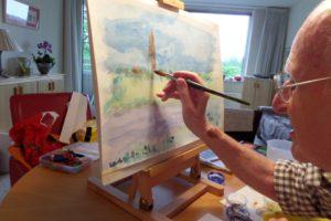 Tekenen en schilderen voor ouderen/zingeving